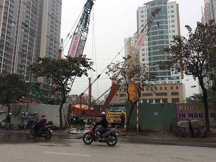 Cập nhật tiến độ dự án DLC Complex Nguyễn Tuân